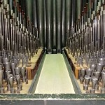 inside the organ
