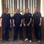 The Team (left to right): Andrew Scott, Head Voicer, Craig Watson, Michael Clough and Jaroslav Strazovsky