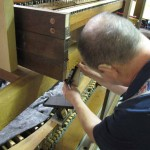 Blackheath - working on the console (2)