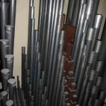 Choir pipework