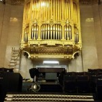 The completed organ