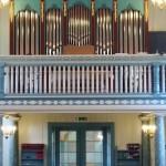 Hakadal Kirke completed organ