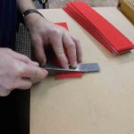 cutting felt for pallets