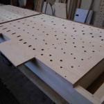 Pedal six stop soundboard
