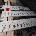 Pedal soundboard upperboard