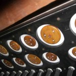 Pedal Organ leatherwork