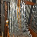 Choir pipework