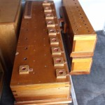 Pedal Bourdon chests & Principal of right side