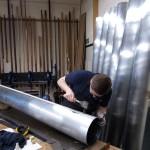 Pedal Open Diapason 16ft , soldering bodies