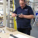 Nigel working on conveyancing