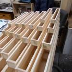 Stop Diapason wooden pipes