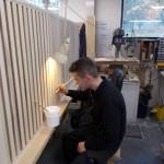 installing swell baffles