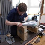 Making pipe feet