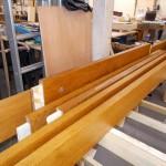 Oak building frame