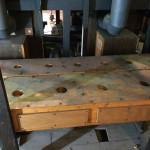 Pedal unit chest