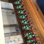 New electromagnets to drive the action of the swell organ.
