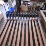 pedalboard under repair