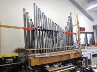 Choir Clarinet on voicing machine (2)
