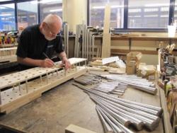 making racks for the Hautboy