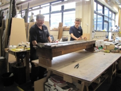 Great and Swell soundboard