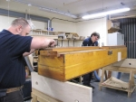 pre-testing Great reeds soundboard
