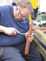 replacing damaged pipes