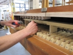 Swell soundboard fitting pull downs