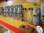 5 stop Pedal soundboard