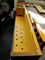 Pedal reed soundboards