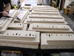 front pipe machine unit chests