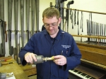 Union Chapel, Islington - Voicing the Pedal Ophicleide