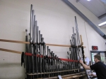 Swell  oboe - first reed to go on voicing machine