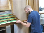 working on the Nave console