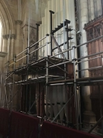 case in new position south quire aisle