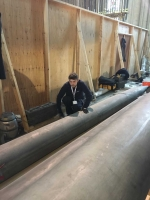 cleaning 16ft pipe