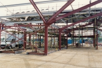 inside the workshop area