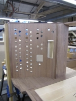 Stop knob panels