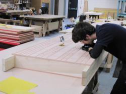 sanding soundboard