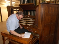 Measuring the Nave console screen