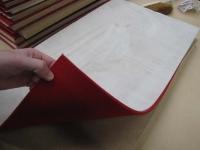 Pallets leathering felts