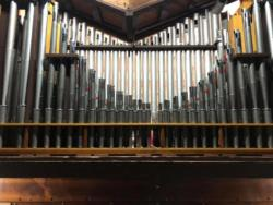 Remade Positive Organ Clarinet (formerly a Dulcian)