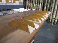 pallets to be leathered