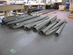 pipes in workshop
